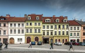 Обои Город, Чехия, Улица, Street, Czech Republic, Градец-Кралове, Hradec Kralove