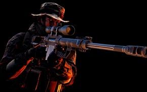 Картинка gun, game, soldier, weapon, Battlefield, sniper, rifle, uniform, seifuku, Battlefield 4, Battlefield IV