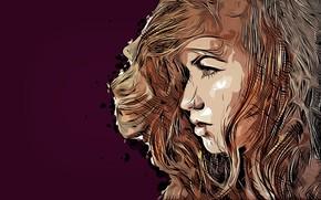 Картинка red, girl, model, face, hair, redhair, Jenny O'sullivan