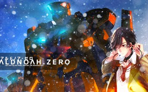 Картинка робот, арт, парень, Кайзуко Инахо, Aldnoah zero