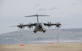 Картинка aircraft, military, air force, 002, cargo and transport aircraft, Airbus A400M