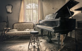 Картинка музыка, пианино, Private symphony