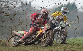 Обои мотоциклы, гонка, спорт