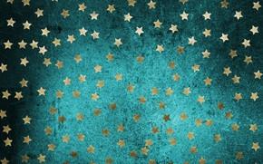 Картинка звезды, фон, золото, текстура, gold, stars