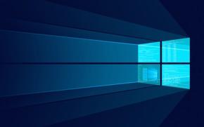 Обои Windows 10, Windows Server, Windows Server 2016, Server Desktop