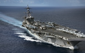 Картинка USS Carl Vinson, CVN 70, Nimitz-class aircraft carrier