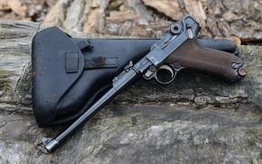 Обои кобура, Пистолет Люгера, Парабеллум