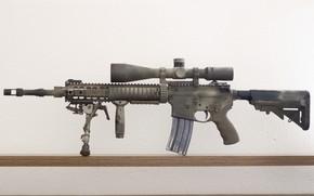 Картинка оружие, штурмовая винтовка, Mk12