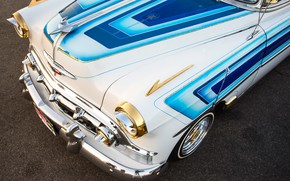 Обои Передок, Chevy, капот, 1953