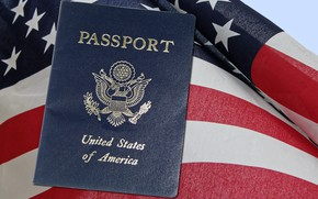 Картинка флаг, америка, United States, сша, U.S., Соединённые Штаты Америки, America, паспорт, Stars and Stripes, passport, ...
