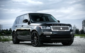 Картинка Range Rover, with, color, Supercharged, exterior, trim, matched