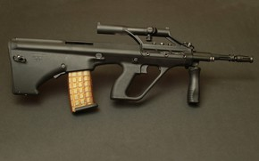 Картинка оружие, автомат, weapon, AUG, Steyr, assaul rifle