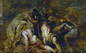 Картинка картина, Питер Пауль Рубенс, мифология, Pieter Paul Rubens, Арест Самсона