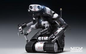 Картинка робот, Igor Sobolevsky, передовые технологии, EDI service bot