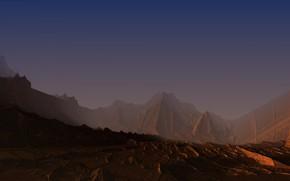 Обои desert, 2017, Mandelbulb3D, alievgraph