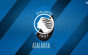Картинка wallpaper, sport, logo, football, Italia, Serie A, Atalanta