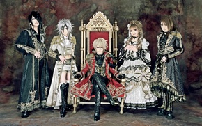 Обои Eternal Member: Jasmine You, Versailles Group, japanese, Masashi, Versailles: Philharmonic Quintet, music, lolita, man, asian, ...