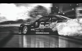 Картинка дорога, nissan, дрифт, drift, road, skyline, ниссан, r34, скайлайн, р34, lfs, Live for Speed