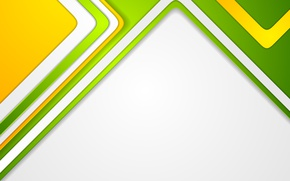 Обои geometric, геометрия, colorful, backgound, линии, design, bright, vector, yellow, абстракция, abstract, green