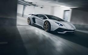 Картинка скорость, Lamborghini, суперкар, 2018, Novitec Torado, Aventador S