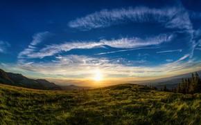 Обои природа, утро, пейзаж, красота