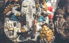 Картинка Статуя, Бали, Индонезия, Религия