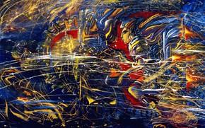 Картинка искры, Инопланетянин, Айбек Бегалин, 1998г