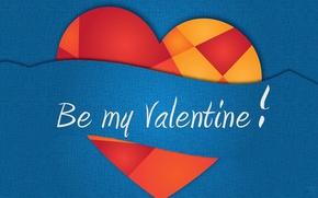 Картинка вектор, валентинка, сердечко, День Святого Валентина