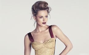 Картинка фон, модель, платье, model, Frida Gustavsson