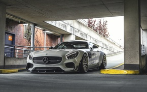 Обои купе, Mercedes-Benz, Mercedes, суперкар, мерседес, AMG, Coupe, Prior-Design, C190, PD800GT, GT-Class