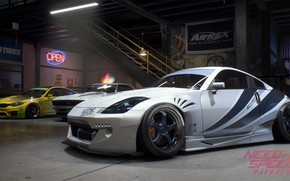 Обои NFS, Need For Speed, 2017, Need For Speed: Payback, Electronic Arts, Nissan 350Z