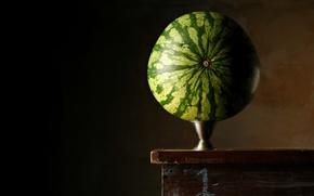 Картинка фон, арбуз, Balancing Melon