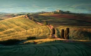 Картинка красота, Италия, Тоскана, регион