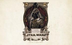 Обои Princess Leia, sci-fi, Luke Skywalker, Darth Vader, parody, science fiction, Leia Organa, artwork, simple background, ...