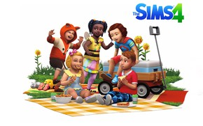 Картинка малыш, game, Sims, Sims 4, Toddler