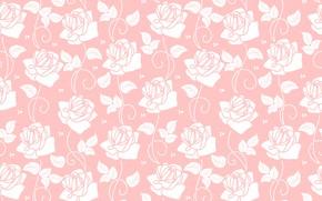 Картинка фон, розы, текстура