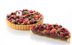 Картинка ягоды, пирог, выпечка, начинка