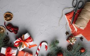 Картинка праздник, новый год, подарки, декор