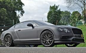 Картинка Bentley, Continental, Machine, 107, Titanium, V-FF