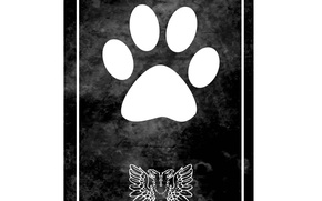 Картинка обои, логотип, картинка, на белом фоне, иллюстрация, House of animals, Animal Association