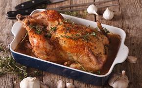 Картинка Meat, chicken, sauce