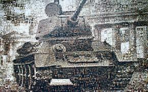 Обои советский средний танк, Т-34, силуэт, победа, фотографии, лица