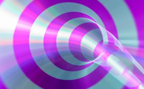 Картинка круги, полосы, цвет