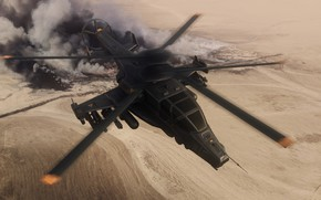 Картинка полёт, вертолёт, Military helicopter