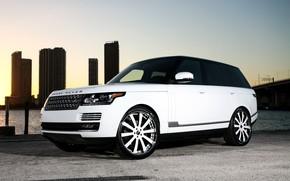 Картинка wheels, Range Rover, color, Forgiato, lowered, matched