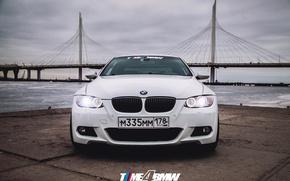Картинка car, машина, авто, мост, city, туман, гонка, bmw, бмв, тачка, спорт кар, автомобиль, need for …