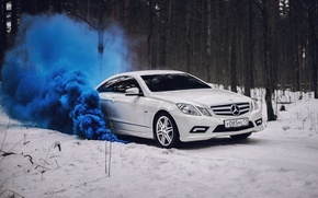 Картинка car, машина, авто, city, туман, гонка, тачка, mercedes, спорт кар, автомобиль, need for speed, мерседес, …