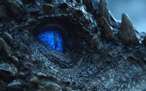 Обои Игра престолов, Dragon, Дракон, Night King, Король ночи, Game of Thrones