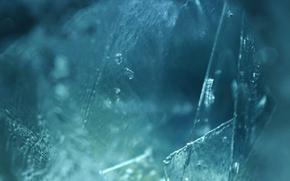 Картинка холод, вода, фон, лёд, под водой, синий цвет