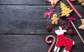 Картинка украшения, Новый Год, печенье, Рождество, happy, Christmas, New Year, Merry Christmas, Xmas, gift, cookies, decoration, …